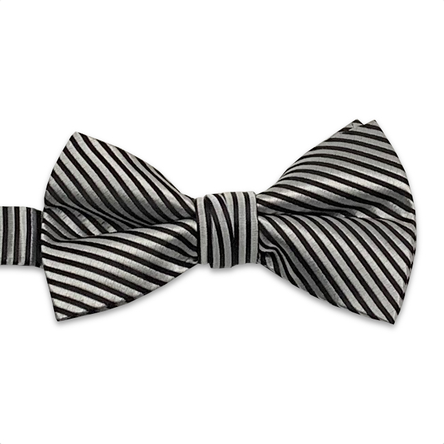 Fusion Stripe Bow Ties by Fabian Couture