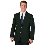 EXECUTIVE APPAREL HUNTER GREEN CLUB COLLECTION BLAZER JACKET