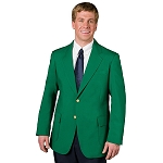 EXECUTIVE APPAREL KELLY GREEN CLUB COLLECTION BLAZER JACKET