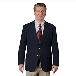 EXECUTIVE APPAREL NAVY BLUE CLUB COLLECTION BLAZER JACKET