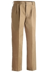 EDWARDS TAN UTILITY PLEATED FRONT CHINO PANT - MEN'S