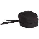 BLACK COTTON SKULL CAP