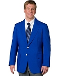 EXECUTIVE APPAREL ROYAL BLUE CLUB COLLECTION BLAZER JACKET