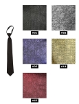 NEIL ALLYN JAZZ PAISLEY PRE-TIED WINDSOR TIE - ASSORTED COLORS