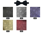 NEIL ALLYN JAZZ PAISLEY PRE-TIED BOW TIE - ASSORTED COLORS