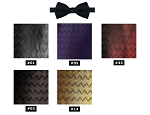 NEIL ALLYN WAVE PRE-TIED BOW TIE - ASSORTED COLORS
