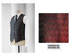NEIL ALLYN WAVE FULLBACK VEST - MEN'S BURGUNDY