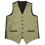Women's Gold Marquis Vest #VT150V-14 (4 Button)