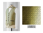 MENS NEIL ALLYN MARQUIS FULLBACK VEST - GOLD