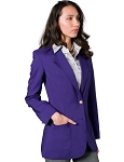 EXECUTIVE APPAREL PURPLE CLUB COLLECTION BLAZER JACKET