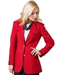 EXECUTIVE APPAREL SCARLET CLUB COLLECTION BLAZER JACKET
