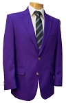 NEIL ALLYN PURPLE CAREER BASICS POLYESTER BLAZER JACKET