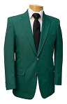 NEIL ALLYN AUGUSTA GREEN CAREER BASICS POLYESTER BLAZER JACKET