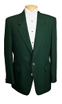 NEIL ALLYN HUNTER GREEN CAREER BASICS POLYESTER BLAZER JACKET