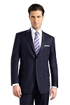 NEIL ALLYN NAVY CLASSIC POLYESTER BUSINESS BLAZER JACKET