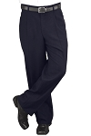 NEIL ALLYN CAREER BASICS NAVY PLEATED DRESS PANTS - MEN'S