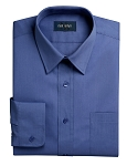 NEIL ALLYN FRENCH BLUE LONG SLEEVE MEN'S DRESS SHIRT