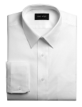 NEIL ALLYN FITTED WHITE LONG SLEEVE MEN'S DRESS SHIRT
