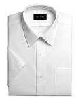 NEIL ALLYN SHORT SLEEVE MEN'S WHITE DRESS SHIRT