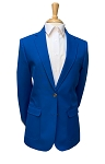 NEIL ALLYN ROYAL BLUE CAREER BASICS BLAZER JACKET - WOMEN'S