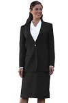 NEIL ALLYN BLACK CARDIGAN BLAZER JACKET - WOMEN'S