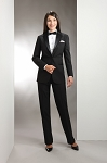 NEIL ALLYN BLACK WOOL NOTCH TUXEDO PACKAGE - WOMEN'S