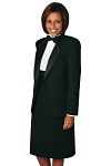 NEIL ALLYN BLACK COMFORT STRETCH NOTCH TUXEDO PACKAGE - WOMEN'S