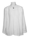 NEIL ALLYN WHITE BUSSER JACKET - MEN'S