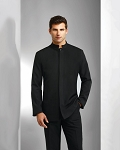 NEIL ALLYN BLACK COMFORT STRETCH BUSSER JACKET - MEN'S