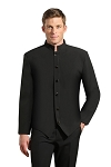 NEIL ALLYN BLACK COMFORT STRETCH STEWARD'S JACKET - MEN'S