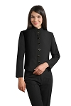 Women's Comfort Poly Black Stewards Jacket #3005CL-01