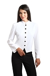 Women's Comfort Poly White Stewards Jacket #3005CL-70