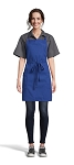 ROYAL ADJUSTABLE BIB APRON - 2 POCKETS
