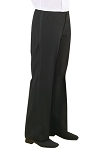 NEIL ALLYN POLYESTER WOMEN'S BLACK TUXEDO PANTS - FLAT FRONT