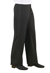 NEIL ALLYN POLYESTER WOMEN'S BLACK TUXEDO PANTS - LOW RISE