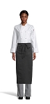 BLACK FULL BISTRO APRON - 1 POCKET