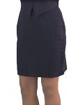 Women's Comfort Poly Above The Knee Tuxedo Skirt #3097S