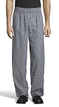 HOUNDSTOOTH CLASSIC BAGGY CHEF PANTS