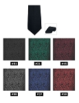 COUTURE 1910 CHASE PAISLEY 4-IN-HAND STRAIGHT TIE - ASSORTED COLORS