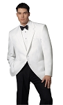 """5022C"" NOTCH MEN'S WHITE TUXEDO JACKET"