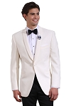 NEIL ALLYN IVORY DINNER JACKET - SLIM FIT