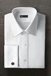 IKE BEHAR COTTON LAYDOWN MEN'S TUXEDO SHIRT