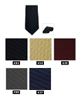 COUTURE 1910 CARLYLE 4-IN-HAND STRAIGHT TIE - ASSORTED COLORS