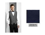 COUTURE 1910 CARLYLE FULL BACK VEST - MEN'S NAVY