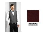 COUTURE 1910 CARLYLE FULL BACK VEST - MEN'S BURGUNDY