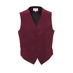 """LUXURY SATINS"" MEN'S APPLE RED TUXEDO VEST"