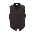 """LUXURY SATINS"" MEN'S CHOCOLATE BROWN TUXEDO VEST"