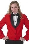 """DURAWEAR"" WOMEN'S RED ETON JACKET"