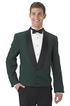 SEGAL HUNTER GREEN 3 BUTTON ETON JACKET - MEN'S