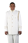 NEIL ALLYN WHITE CADET JACKET - CLOSEOUT